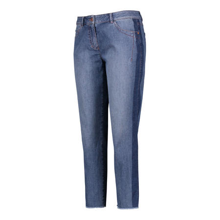 Cropped Straight Fit Jeans