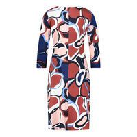 Multi-Print Long Sleeve Dress