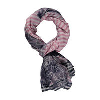 Rose Stripe Scarf
