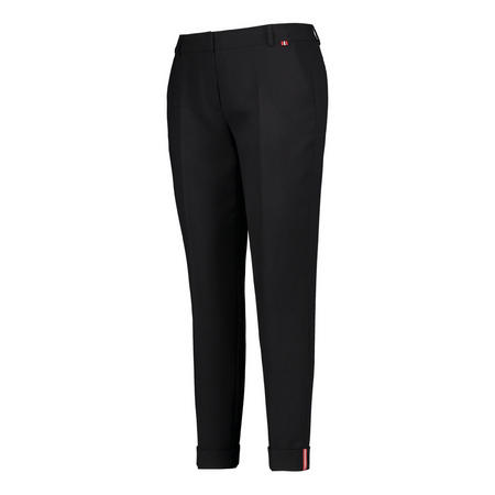 Cropped Tapered Fit Trousers