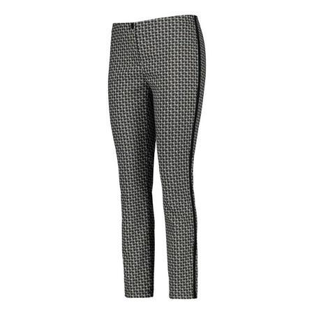 Circle Stripe Trousers