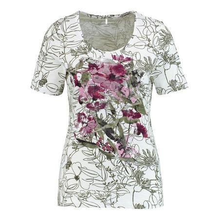 Flower Graphic T-Shirt