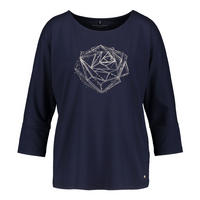 Geometric Rose T-Shirt