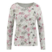 Dandelion Print Long Sleeve Top