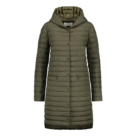 Longline Quilted Puffa Coat