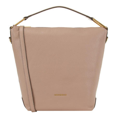 Liya Leather Hobo Bag