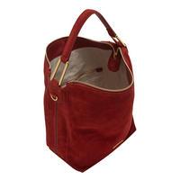 Liya Suede Hobo Bag