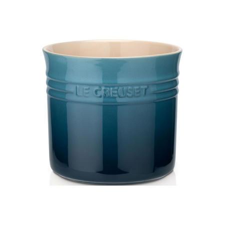 Stoneware Large Utensil Jar Marine