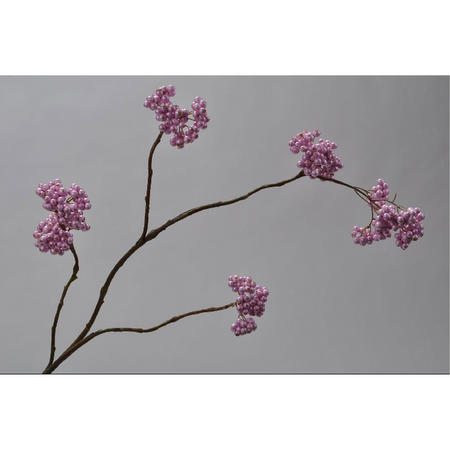 Berry spray pink 92cm high