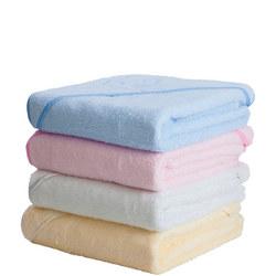 Apron Baby Bath Towel Pink