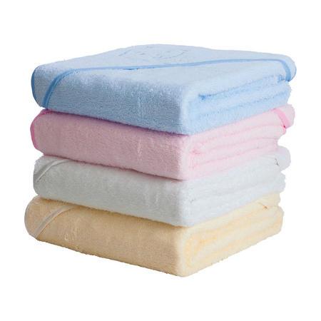 Apron Baby Bath Towel White