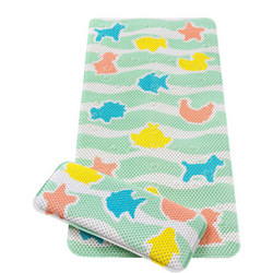Under The Sea Bath Mat With Kneeling Cushion