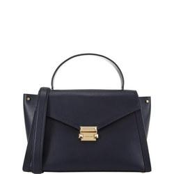 Whitney Medium Satchel Bag Large