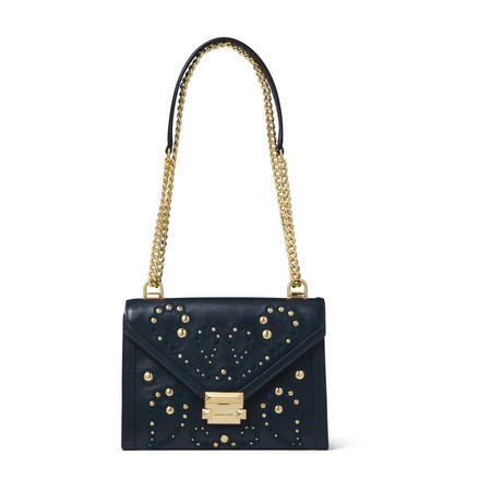 Whitney Stud Embellished Shoulder Bag
