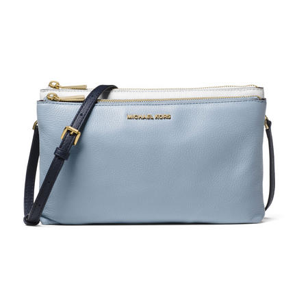 Adele Double Zip Crossbody Bag