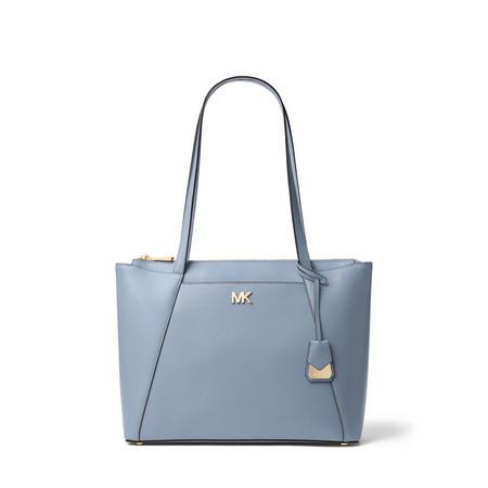 Maddie Medium Leather Tote Bag