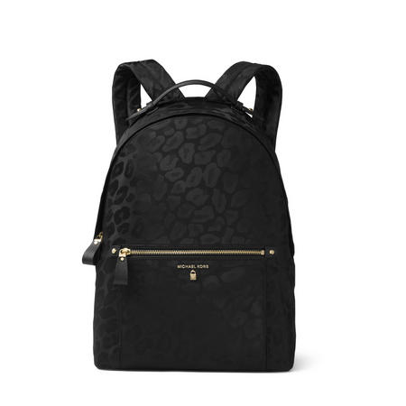Kelsey Leopard Print Backpack