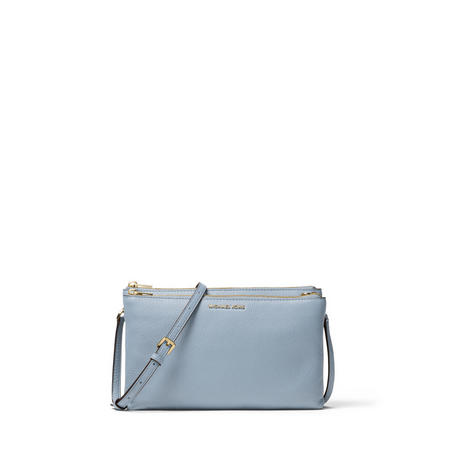 Adele Double Zip Crossbody Bag