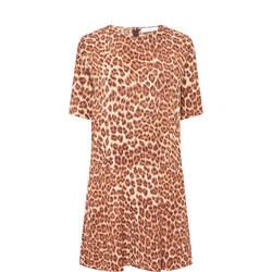 Adelaide Leopard Print Dress
