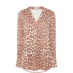 Hamill Leopard Print Top