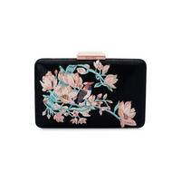 Cate Embroidered Evening Pod Clutch