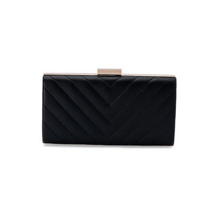 Maddox Quilted Pod Clutch