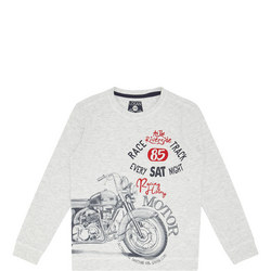 Motorbike Long-Sleeve T-Shirt