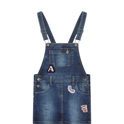 Applique Dungaree Dress