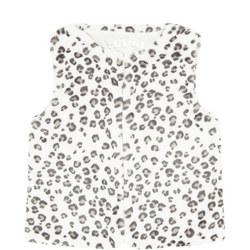 Leopard Print Gilet