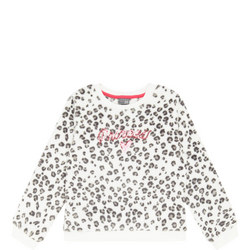 Princess Leopard Print Sweat Top