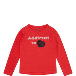Addicted Heart Long Sleeve T-Shirt