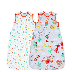 Two-Pack Shapes And Animals Gro Bag