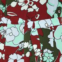 Raw Floral Mini Dress