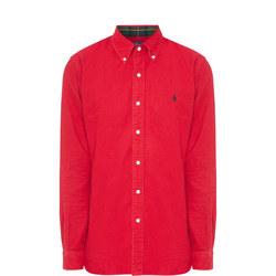 Brush Cotton Oxford Shirt