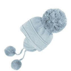 Griffin Bobble Hat With Ear Flaps