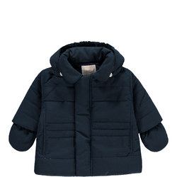Neil Padded Jacket With Hood & Mitts