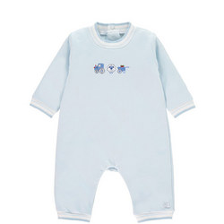 Nathanial Embroidered Babysuit