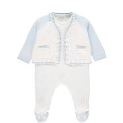 Nevan Babygrow & Cardigan Set