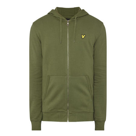 Zip-Through Logo Hoody