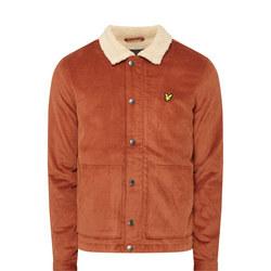 Jumbo Cord Shearling Jacket