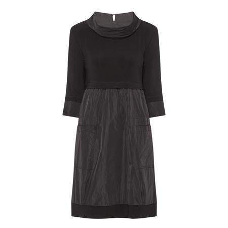 Folded Neck Dress
