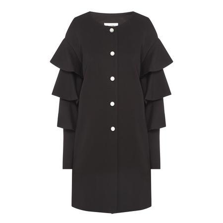 Frill Sleeve Coat