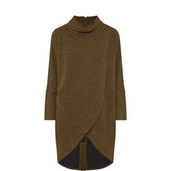 High Neck Knitted Tunic