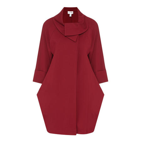 Pointed Collar Coat