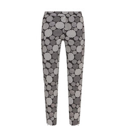 Circle Pattern Trousers
