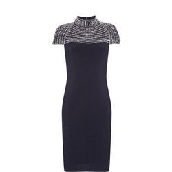 Sequin Top Pencil Dress