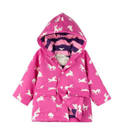 Babies Unicorn Print Raincoat