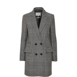 Sage Double-Breasted Coat