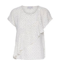 Valeria Ruffle T-Shirt