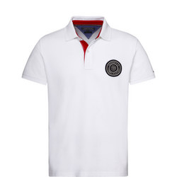 Solid Badge Polo Shirt